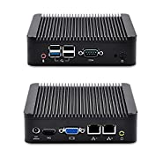 QOTOM-Q190S-S01 2 LAN Industrial Mini pc J1900 (8G RAM,128G SSD,300M WIFI+Bluetooth)