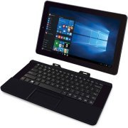 RCA Cambio 10.1 2-in-1 Tablet 32GB Intel Quad Core Windows 10 Black Touchscreen Laptop Computer with Bluetooth and WIFI