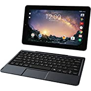 """RCA Galileo Pro 2 in 1 11.5"""" HD Touchscreen Flagship High Performance Tablet  Quad-Core  1GB RAM  32GB HDD  Detachable Keyboard   Android 6.0 OS"""