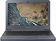 "Samsung Chromebook 3 XE501C13, Intel Dual-Core Celeron N3060, 11.6"" HD, 2GB 4GB DDR3, 16GB 32GB eMMC, Night Charcoal"