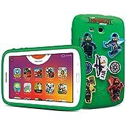 "Samsung - Galaxy Kids Tablet 7.0"", The Lego Ninjago Movie Edition, White"