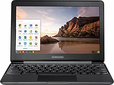 Samsung High Performance Chromebook computer, Intel Dual-Core Celeron N3060 up to 2.48GHz, 11.6 inch WLED HD Display, 4GB DDR3, 32GB eMMC, 802.11ac, HDMI, Chrome OS