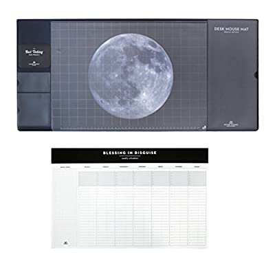 SECOND MANSION But Today Desk Mouse Mat & Scheduler Set