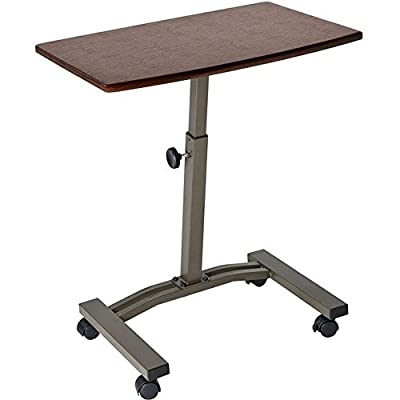 Seville Classics Mobile Laptop Desk Cart 2-Pack