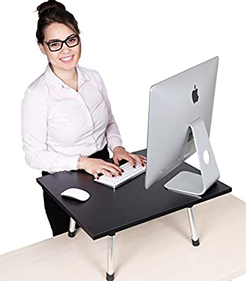 The Original Stand Steady Standing Desk - Instantly convert any desk to a stand up desk! Award-Winning! Featured in Forbes & The Washington Post