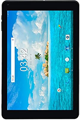 Utopia 10.1-Inch 7.0 Android Tablet (Black) 2GB RAM - 5MP Rear & 2MP Front Camera - 1.3GHz Quad-Core Processor - 2G/3G Compatible, Wi-Fi, Bluetooth - 16GB Storage