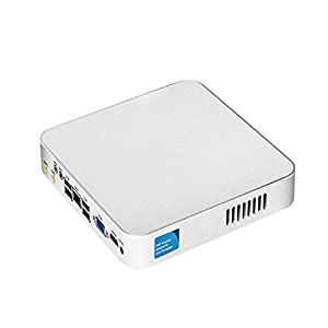 XCY Mini PC Intel core i5 3317U Mini Case Dual Core 1.70GHz with Fan Desktop Computer support Windows/Linux System,Include 8G RAM and 128G SSD,WIFI Pocket