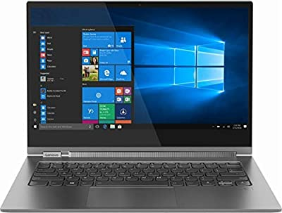 """Yoga C930 2-in-1 13.9"""" Touch-Screen Laptop - Intel Core i7 - 12GB Memory - 256GB Solid State Drive - Iron Gray"""